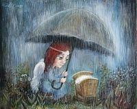 Светлая грусть в картинах Нино Чакветадзе