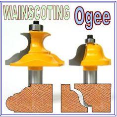 Bit Set, Decorative Mouldings, Router Woodworking, Workshop Ideas, Router Bits, Wainscoting, Pedestal, Shank, Cnc