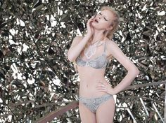 Winter 2012 - Icicle  Bras from € 129.95 Bottoms from € 59.95 Corset € 219.95
