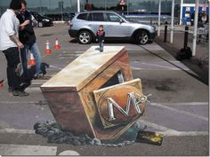 Stunning 3D Street Painting Art From All Over The World | Health,quotations,World News,Science,amazing pictures,entertainment,fun