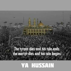 Ya Hussain a.s...