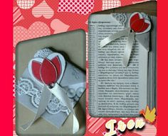Handmade Corner Paper Bookmark