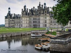 Chambord (France) is the largest château in the Loire Valley ; it was built to serve as a hunting lodge for François I, who maintained his royal residences at Château de Blois and Château d'Amboise.