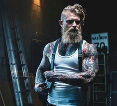 #tattoo #beard