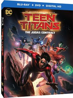 """""""Teen Titans: The Judas Contract"""" Gets 18th April 2017 Release Date!"""