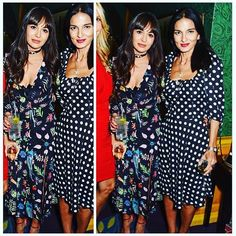 Double trouble  @zaramartin dressed in RIXO London with the beautiful @yasmills @melissaodabash last night at @annabelsmayfair Shop our beautiful Camellia dress at www.rixo.co.uk now  #humansofrixo #zaramartin #annabels #club #london #mayfair #selenagomez #privategig #dailymail #rtw #emergingdesigner #mfw #boho #bohemian #printeddress #silk #bohochic #1970 #70sstyle #ootd #fashionparty #interior #hippy #floral #dj