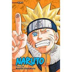Naruto (Vol. 22-23-24) -Masashi Kishimoto
