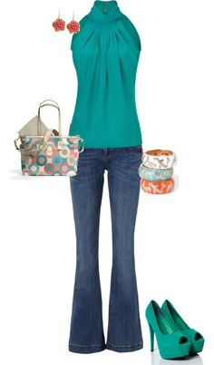 """""""Turquoise"""" by erinlindsay83 on Polyvore"""