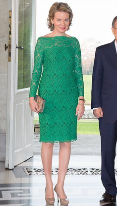 Queen Mathilde, Queen Maxima and Princess Eugenie: the week's best royal style in pictures - Picture 6
