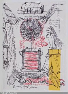 louise bourgeois, the insomnia drawings