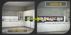 foto do kuchyne, foto zástena, sklenená
