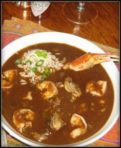 New Orleans Seafood Gumbo - Must compare to Tom's gumbo - you know the one I'm talking about! Yum!!