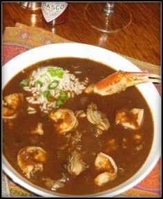 Seafood gumbo chris d 39 elia ruth chris and gumbo for 1895 cajun cuisine menu