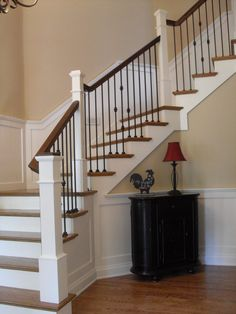 Incroyable Wrought Iron Balusters Staircase Traditional With Stair Ideas Post To Post  Stair System
