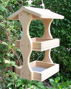 With new bird feeders #BirdHouse Ideas http://socialaffiliate.wix.com/bird-houses http://buildbirdhouses.blogspot.ca/