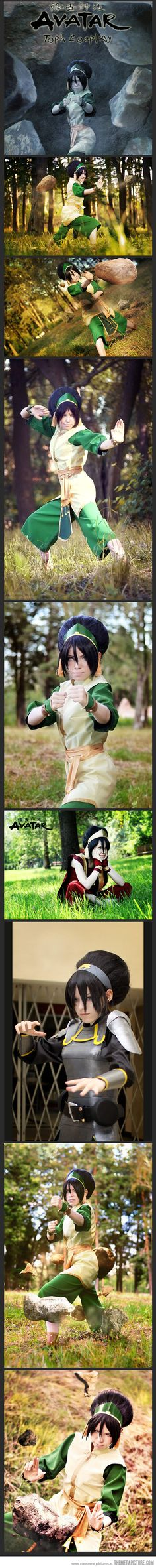 Cool Avatar Airbender Cosplay…