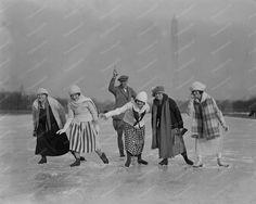 Image result for skating public garden boston history images