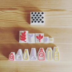 These stamps are traveling to Firenze Italy today. . . . #talktothesun #handmade #handcarvedstamp #craft #etsy #rubberstamp #stamp #stamping #stamplove #stamplife #stampcarving #lino #linocut #printlife #printmaking #create #createaday #creativelifehappylife #art #artofinstagram #artsandcrafts #artstagram #etsyshop #polkadot #leaf #bottles #illustration #design #outgoingmail #happymail
