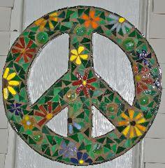 Peace sign.