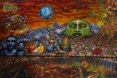 culture street art, south america, cities