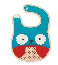 Baberos Skip Hop, son baberos divertidos y originales para los más pequeños. Skip Hop, marca dedicada al diseño y fabricación de productos infantiles, nos presenta la colección Zoobib inspirada en las caras de diferentes animalitos... http://www.mibabyclub.com/tienda/alimentacion-del-bebe/vajillas-infantiles/babero-skip-hop-buho.html