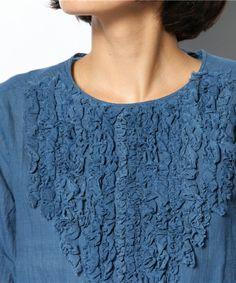45rpm, Japan - woman's top detail