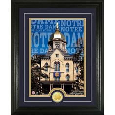 University of Notre Dame 'Campus Traditions' Coin Photo Mint