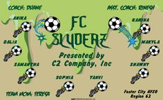 FC Slyders digitally printed vinyl Soccer sports team banner. Made in the USA and shipped fast by Banners USA. http://www.bannersusa.com/art/templates_2/digital/banners/VBS_BB_banners.php