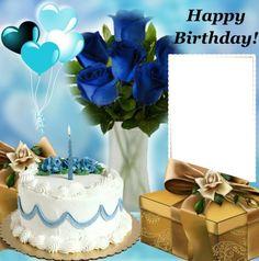 Birthday Card With Name, Birthday Cake Writing, Happy Birthday Wishes Cake, Happy Birthday Frame, Happy Birthday Friend, Birthday Frames, Birthday Cards, Funny Happy Birthday Pictures, Happy Birthday Funny