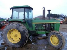 John Deere 4430 tractor salvaged for used parts. This unit is available at All States Ag Parts in Downing, WI. Call 877-530-1010 parts. Unit ID#: EQ-23919. The photo depicts the equipment in the condition it arrived at our salvage yard. Parts shown may or may not still be available. http://www.TractorPartsASAP.com