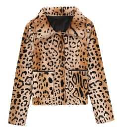 The Carly Jacket By Meotine is a classic and stylish leo-print jacket. The style is crafted in 100% soft goat fur, and is made with two front pockets fully lined in lustrous polyester, finished off with a beautiful leather hem. The short straight shape is perfect for Spring / Summer '17. Details: – 100% goat ...