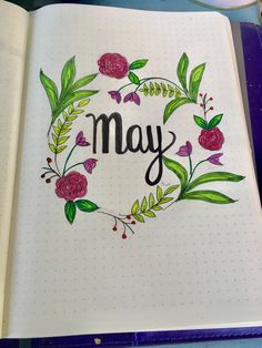 My May front page - thanks to a fab tutorial from Krystal Whitten