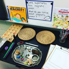 Myers' Kindergarten: What We Learned By Investigating Superheroes: Part 1 Science Inquiry, Primary Science, Inquiry Based Learning, Preschool Science, Project Based Learning, Science Lessons, Lessons For Kids, Learning Centers, Science Activities