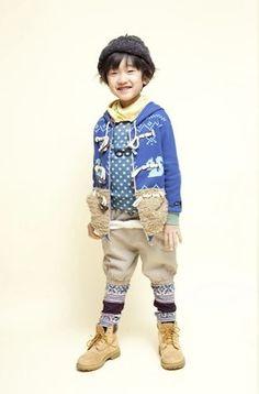 Mol - Japanese Kids Fashion series - the Chief of Fashion Mischief  Mol_Duffel_Coat