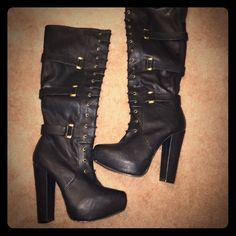 NWOT Bakers lace up boots Gorgeous bakers boots, bought these and never had the chance to wear them. Brand NEW condition! Size 6.5 Bakers Shoes Lace Up Boots