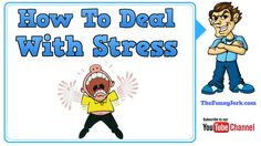 How To Deal With Stress: 10 Stress Relief Solutions. Really Funny Joke, Dealing With Stress, Pranks, Stress Relief, Workplace, Funny Jokes, Humor, Kids, Young Children