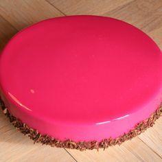 Recette Glaçage miroir rouge par manue12 - recette de la catégorie Basiques