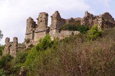 Die antike Stadt Syedra am Weg Richtung Gazipasa