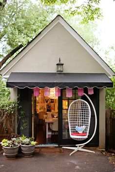 She Shed Woman Cave Hut via Loulou + Jones