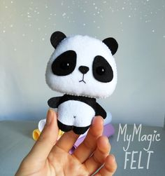 Decoraciones infantiles Panda ornamento decoración Woodland
