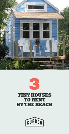 Tiny houses by the beach you can rent right now.