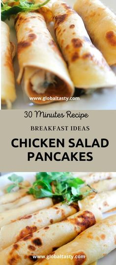 1 reviews · 30 minutes · Serves 8-10 · The best chicken salad pancakes are a versatile dish that works well at any time of the day. Serve them for breakfast, brunch or even as part of a picnic snack. I sometimes like to make miniature… More