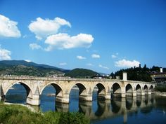 Mehmed Paša Sokolović Bridge in Višegrad, Bosnia