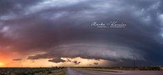 Sunset shelf cloud by Marko Korošec on 500px