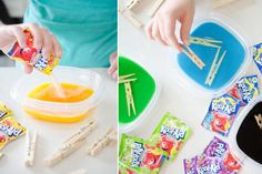 11 Mind-Blowing Ways to Use Kool-Aid - The Krazy Coupon Lady Craft Stick Crafts, Fun Crafts, Diy And Crafts, Crafts For Kids, Craft Sticks, House Cleaning Tips, Diy Cleaning Products, Cleaning Hacks, Cleaning Solutions