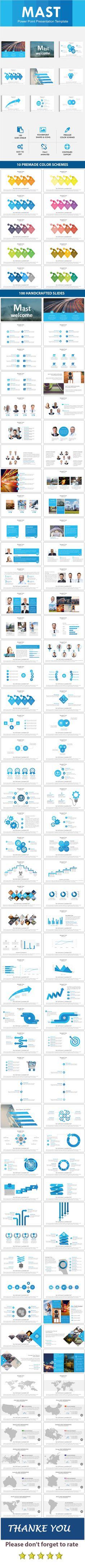 Mast Powerpoint Presentation Template