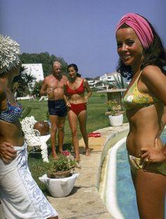 Poolside: Slim Aaron's