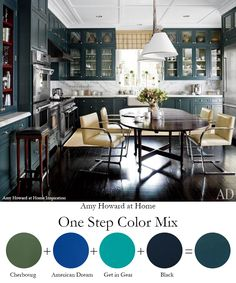 Amy Howard at Home One Step Paint color mix #amyhowardathome #onesteppaint