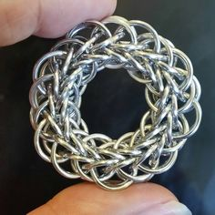 Grizzly FP 8 in 1. I see a bangle in my future :) #chainmaille #chainmail #artisanmade