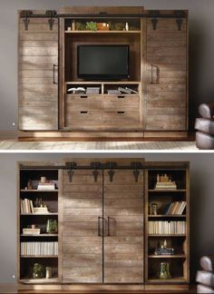 Diy Entertainment Center Best Of Love This Hidden Tv Idea From Grange Furniture Think Width is. makeover diy before and after entertainment center Diy Entertainment Center Best Of Love This Hidden Tv Idea From Grange Furniture Think Width is Hidden Tv, Diy Entertainment Center, Entertainment Furniture, Entertainment Units, Sliding Doors, Barn Doors, Tv Cabinets, Kitchen Cabinets, Deco Design